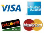 Pay securely using your Credit Cards